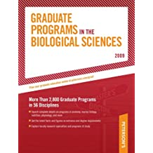 Peterson's Graduate Programs in the Biological Sciences, 2009