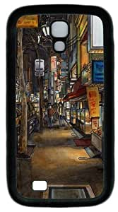 Cool Painting Samsung Galaxy I9500 Case and Cover -Urban drawing PC Rubber Soft Case Back Cover for Samsung Galaxy S4/I9500