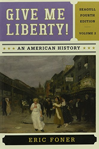Give Me Liberty An American History Volume 2 Pdf