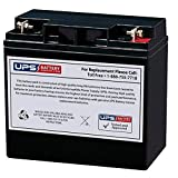 DuroMax XP10000E Portable Generator, 8000 Running Watts/10000 Starting Watts Compatible Replacement Battery by UPSBatteryCenter®