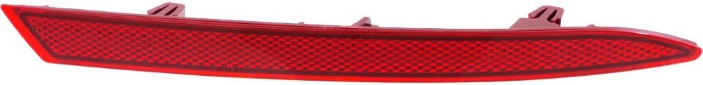 CAPA Certified Bumper Reflector Rear Light Lamp Right Side for Sonata 15-17