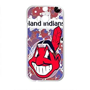 Cleveland Indians Fahionable And Popular Back Case Cover For HTC One M8