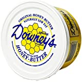 Downey's Original Natural Honey Butter, 8 Oz. Tub (Pack of 2) by Downey's