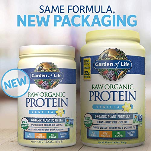 Garden of Life, Raw Protein, Vanilla, 22 oz (631 g)