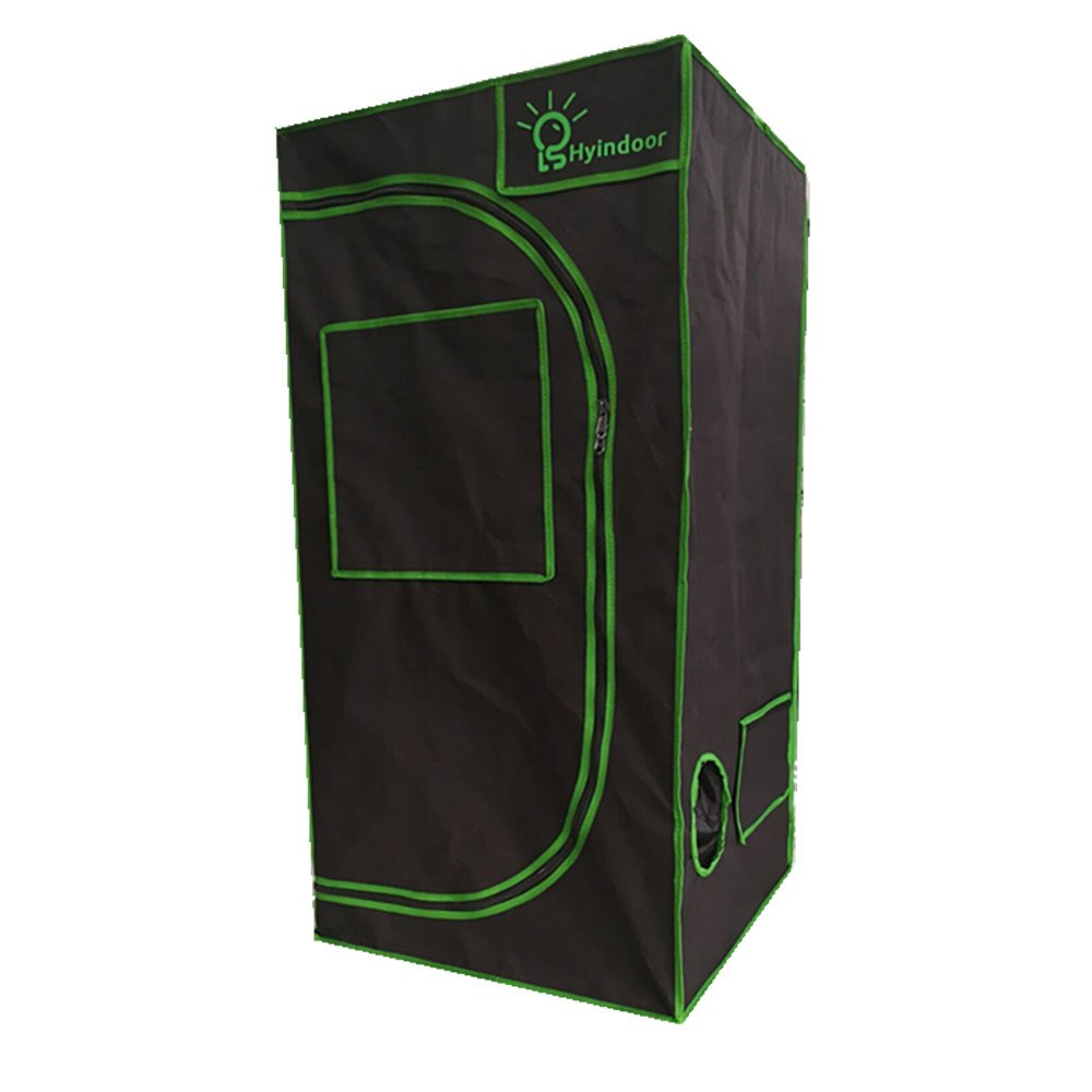 Hyindoor 6060120cm 242448 Inches Indoor Hydroponics Grow Tent Greenhouse Reflective Mylar Non Toxic Room