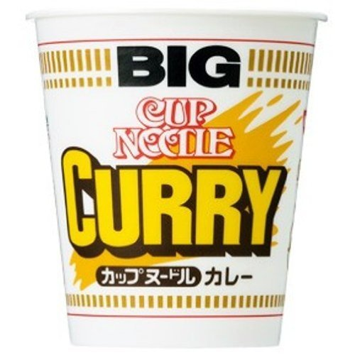 (Nissin BIG Cup Noodle Curry Flavor 119 g x 6 Packs (Japan Import))