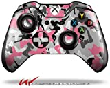 Cheap Sexy Girl Silhouette Camo Pink – Decal Style Skin fits Microsoft XBOX One Wireless Controller (CONTROLLER NOT INCLUDED)