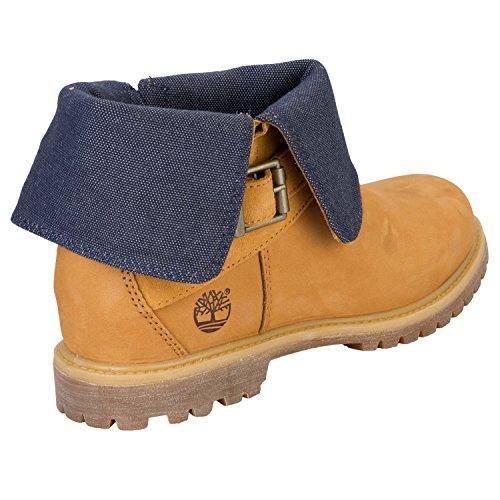 Timberland 7 5 Weizen Fold UK Down Boots q46Pq