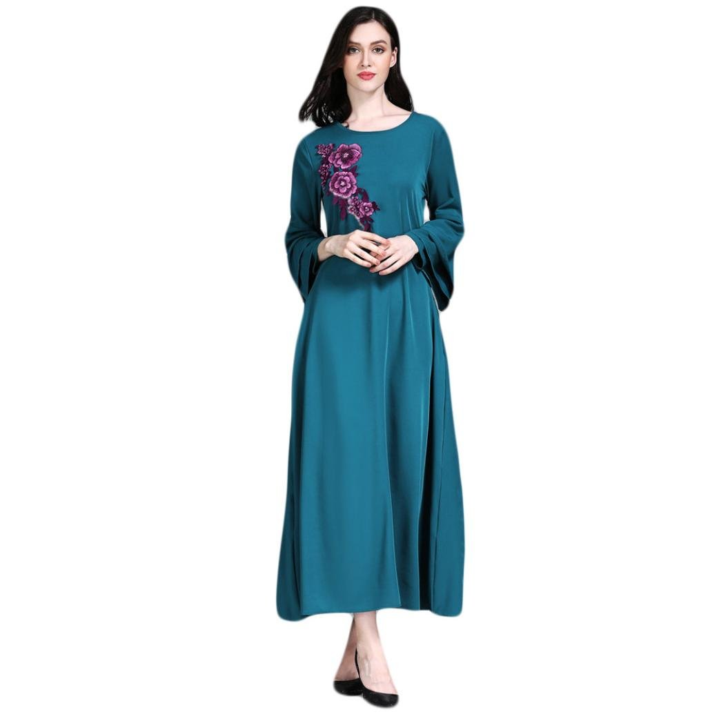Muslimische Oyedens Islamische Muslim Frauen Abaya Kleidung QrtshCdx