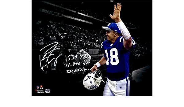 2014 Topps Football #37 Peyton Manning Denver Broncos O-POY