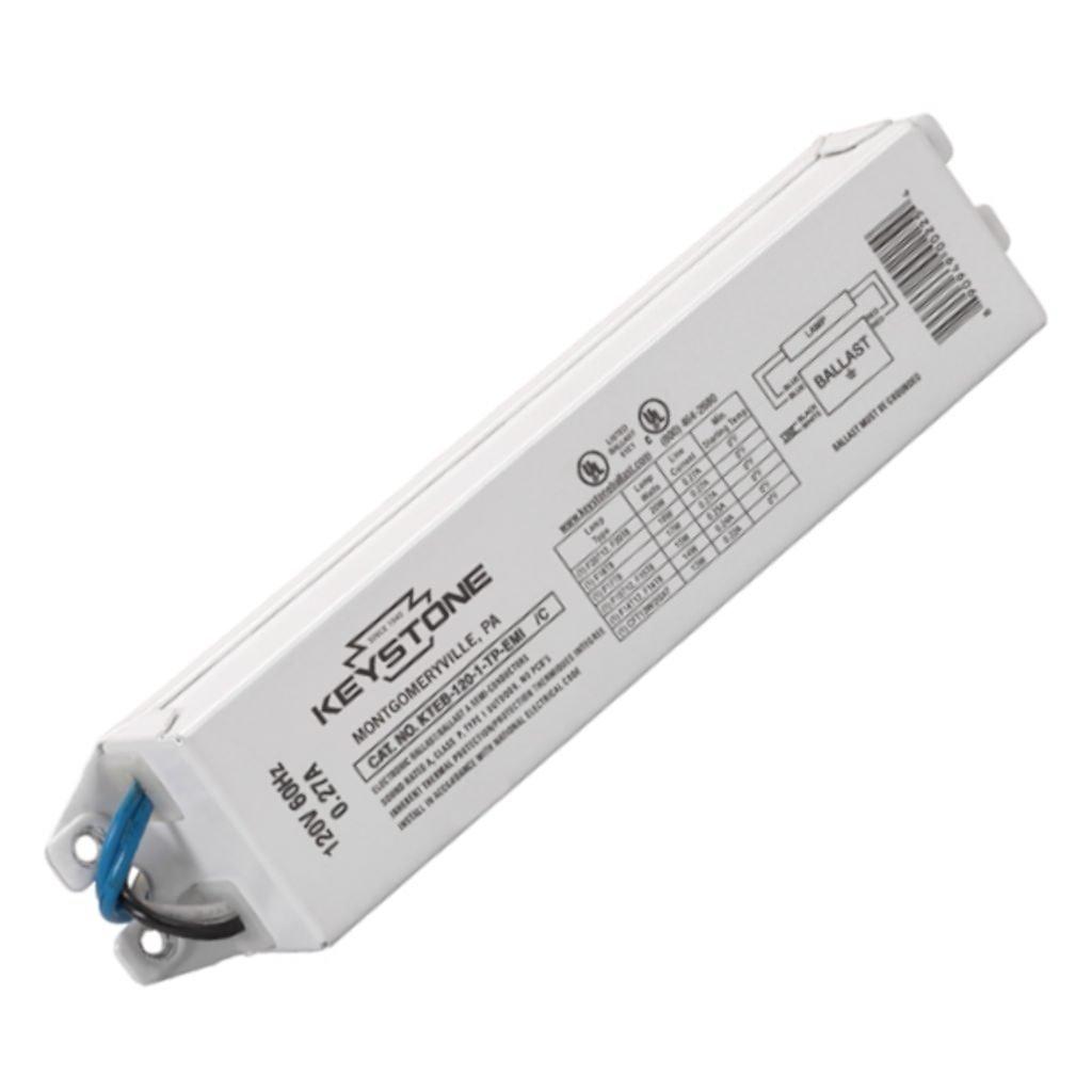 Keystone KTEB-120-1-TP-EMI Fluorescent Ballast F20T12 1-Lamp 120V Keystone Technologies 20W T12