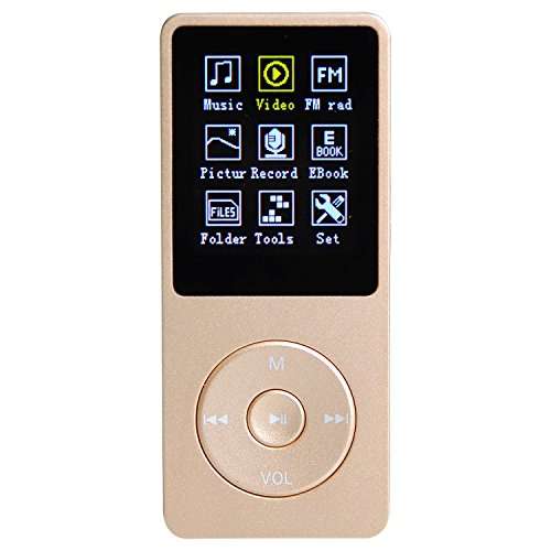 Lychee 8 GB & 70 Hours Mp3 Mp4 Player Media/Music/Audio 1.8'