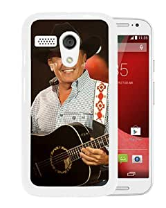 Popular Sell Design George Strait 4 White Durable Motorola Moto G Phone Case
