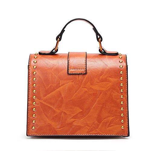 Aoligei Version coréenne serrure Dame tempérament à main épaule unique côté petit sac A