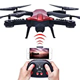 GordVE GV1803 WIFI 720P HD Camera FPV Quadcopter 2.4GHz 6 Axis Gyro RC Quadcopter With Camera Foldable Arm Altitude Hold Pocket Drone