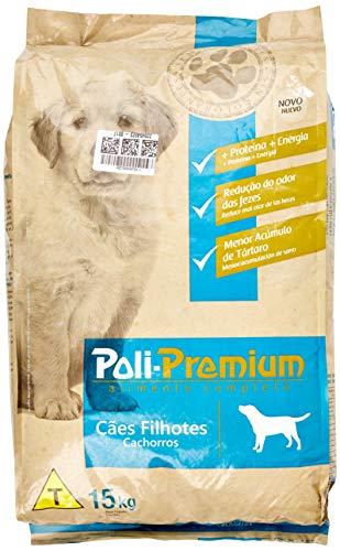 Ração Poli Premium para Cães Filhotes 15kg
