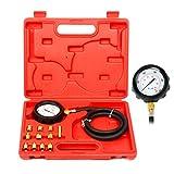 8milelake Engine Oil Pressure Tester Gauge Diagnostic Test Kit 500PSI w/ Case