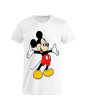 Shirt Bambino Tuttoinunclick T Topolino Donna Uomo Abbraciatutti 6vYfyIb7gm