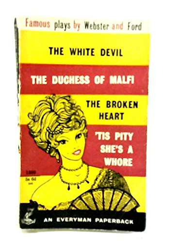 Famous Plays By Webster and Ford - The White Devil; for sale  Delivered anywhere in USA