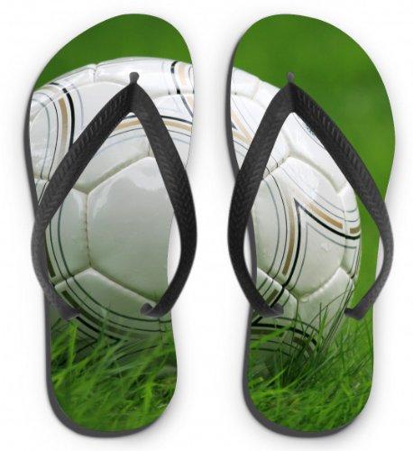 41 Fußball L Flops Größe Motiv Flip 43 ASqpwAX