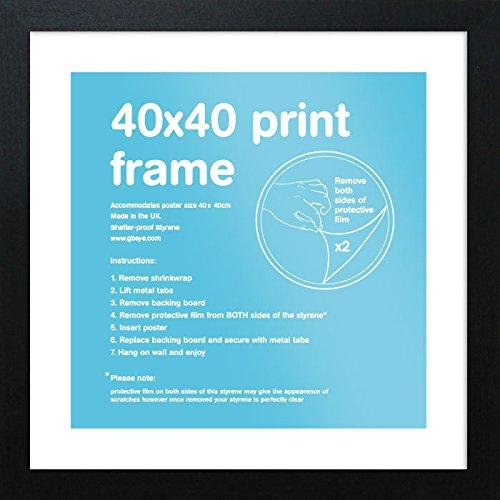 GB Eye Ldt Cadre Noir 40 x 40 cm product image