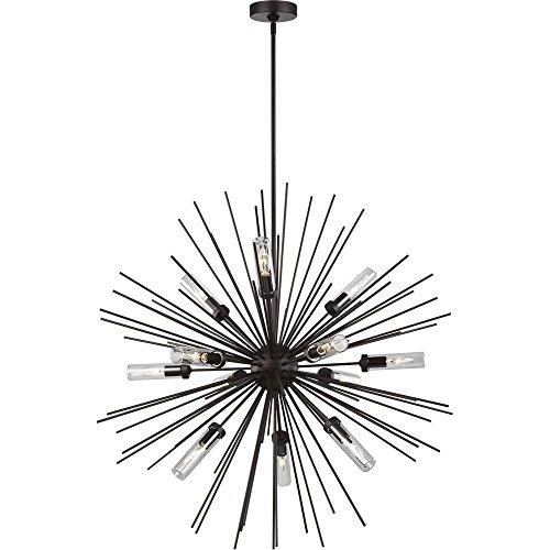 - Feiss OLF3296/12ORB Hilo Outdoor Chandelier Lighting, Bronze 12-Light (36