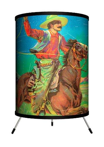 Lamp-In-A-Box TRI-VAR-LASSO Various - Lasso Cowboy Tripod La