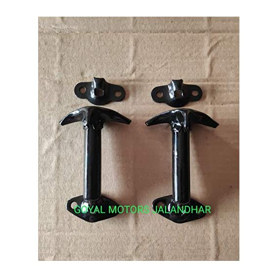 OLD MODEL WILLY CLASSIC JEEP BEND TYPE KUNDA   WINDSHIELD TO BONNET BEND TYPE CLIP SET    willys jeep spare parts