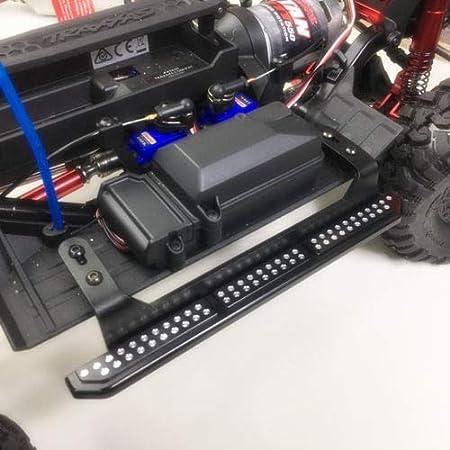 A Style XUNJIAJIE 1Paar Metal Side Pedal Side Pedalplatte f/ür Traxxas TRX4 1//10 Crawler Car