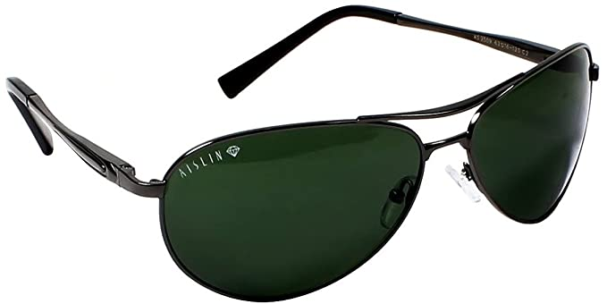 d8bc9c608705c Image Unavailable. Image not available for. Colour  Aislin Aviator Unisex  Sunglasses ...