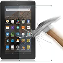Asstar Made for Amazon Kindle Fire HD 7 2015, Premium Tempered Glass Glass Clear Screen Protector (HD) Touch screen 0.3mm 2.5D for Amazon Fire Tablet (7 inch Display, 2015 Release Only) (1 Pack)