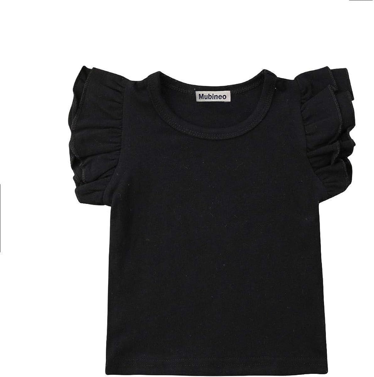 Custom Where Im with You Cotton Girl Toddler Long Sleeve Ruffle Shirt Top
