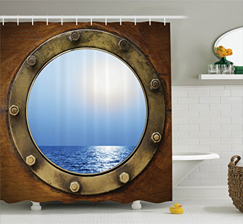 Sailboat Curtains Porthole Textiles Accessories