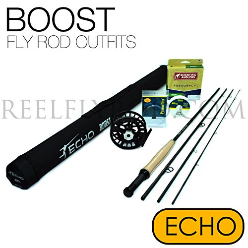 Echo Boost Fly Rod 376-4 Fly Rod Outfit (3wt, 7'6