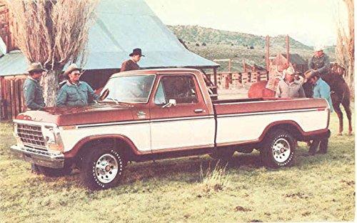 F150 Lariat (1978 Ford F150 Ranger Lariat Pickup Truck ORIGINAL Factory)