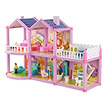Luxurious 11.5'' Doll House Living Room Furniture Set-The Castle