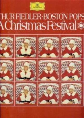 1970 A Christmas Festival Vinyl LP Record West German Import