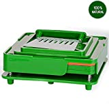 capsule filler machines - 100 Capacities Plastic plates for size 00(Green)