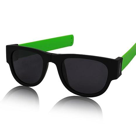 William 337 Gafas de Sol - Gafas de Sol Plegables curvadas ...