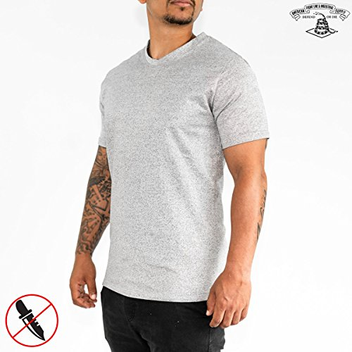 American Frontline & Industrial Supply Ultra Slash Resistant T-Shirt | Level 5 Protection (X-Large) -
