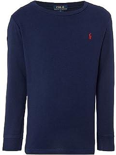 Polo Ralph Lauren Men Long Sleeve Pony Logo T Shirt Amazon Com