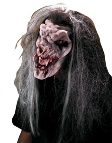 Rubie's Prosthetic Demon Vampire Latex Face Piece ()
