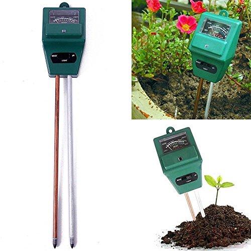 새로운 3in1 식물 꽃 수경 토양 수분 PH 라이트 미터 테스터/New ..