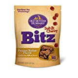 Old Mother Hubbard Snacks for Dogs Soft and Chewy Bitz, Peanut Butter Flavor, My Pet Supplies