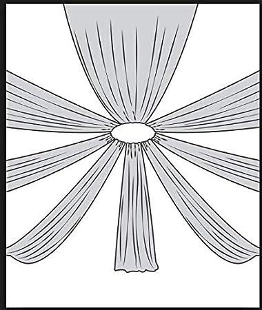 Opaque l/éger Voilage Voile Tergal Blanc Pur,Largeur 300cm Mariage s/éance Photo D/éco,Confection 10 metres