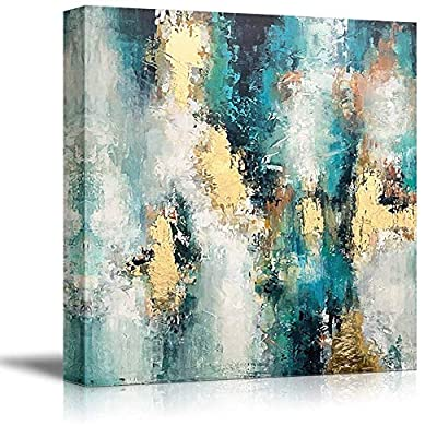 Canvas Wall Art for Living Room,Bedroom Home Artwork Paintings Abstract Picture Ready to Hang - 12x12 inches