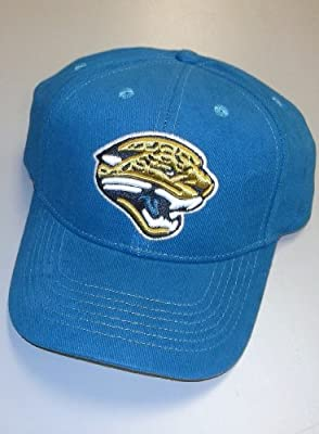 Jacksonville Jaguars Basic Logo Adjustable Cotton Hat from Reebok