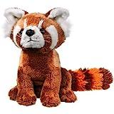 Wildlife Artists Panda Plush Toy, Red