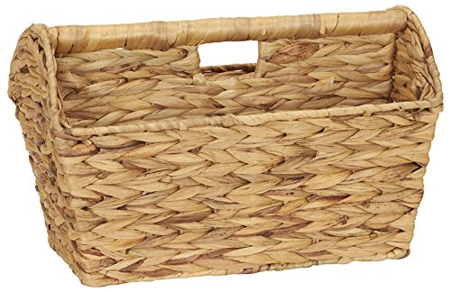 Household Essentials ML-6017 Wicker Magazine Rack - - Wicker Ocean Sofa