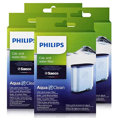4 x Saeco AquaClean kalk- en waterfilter